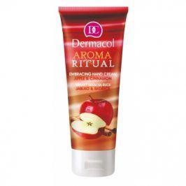 Dermacol Aroma Ritual Apple & Cinnamon 100 ml hřejivý krém na ruce pro ženy