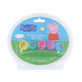 Peppa Pig Peppa Pretty Lipbalm Bracelet 5 g balzám na rty