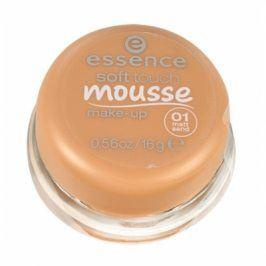 Essence Soft Touch Mousse 16 g makeup pro ženy 01 Matt Sand