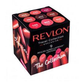Revlon Super Lustrous Creme dárková kazeta pro ženy rtěnka + rtěnka 430 + rtěnka 457 + rtěnka 460 + rtěnka 477 + rtěnka 535 + rtěnka 740 + rtěnka 805 + rtěnka 825 205 Champagne On Ice