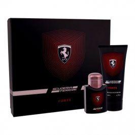 Ferrari Scuderia Ferrari Forte 75 ml dárková kazeta dárková sada pro muže parfémovaná voda 75 ml + sprchový gel 200 ml