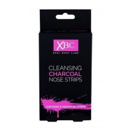 Xpel Body Care Cleansing Charcoal Nose Strips 6 ks pleťová maska pro ženy