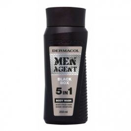 Dermacol Men Agent Black Box 5in1 250 ml mycí gel 5v1 pro muže