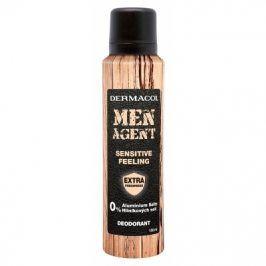 Dermacol Men Agent Sensitive Feeling 150 ml deodorant bez hliníkových solí pro muže