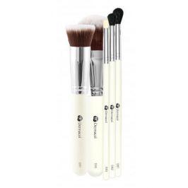 Dermacol Brushes 1 ks dárková kazeta dárková sada pro ženy kosmetický štětec D51 1 ks + kosmetický štětec D55 1 ks + kosmetický štětec D82 1 ks + kosmetický štětec D81 1 ks + kosmetický štětec D83 1 ks