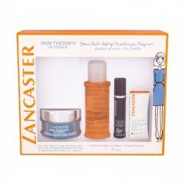 Lancaster Skin Therapy Oxygenate 50 ml dárková kazeta dárková sada proti vráskám pro ženy hydratační gel-krém 50 ml + péče o oční okolí 3 ml + čisticí pleťová voda 3v1 100 ml + pleťové sérum 365 Skin Repair 10 ml