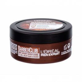 L´Oréal Paris Men Expert Barber Club Beard & Hair Styling Cream 75 ml vosk na vousy pro muže
