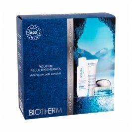 Biotherm Life Plankton Mask 15 ml dárková kazeta dárková sada pro ženy pleťová maska 15 ml + hydratační emulze 10 ml + micelární voda 30 ml