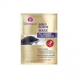 Dermacol Gold Elixir 16 ml omlazující pleťová maska pro ženy