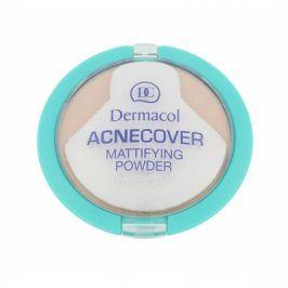 Dermacol Acnecover 11 g matující pudr pro problematickou pleť pro ženy Sand