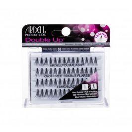 Ardell Double Up Duralash Knot-Free Double Flares 56 ks trsové nalepovací řasy bez uzlíku pro ženy Long Black