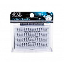 Ardell Individuals Duralash Knotted Flares 56 ks trsové nalepovací řasy s uzlíkem pro ženy Long Black