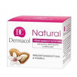 Dermacol Natural Almond 50 ml noční pleťový krém pro ženy