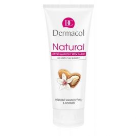 Dermacol Natural Almond 100 ml výživný mandlový krém na ruce pro ženy
