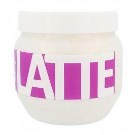 Kallos Cosmetics Latte 800 ml maska pro chemicky poškozené vlasy pro ženy