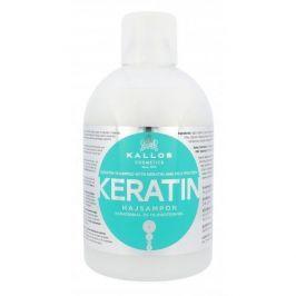 Kallos Cosmetics Keratin 1000 ml regenerační šampon na vlasy s keratinem pro ženy