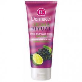 Dermacol Aroma Ritual Grape & Lime 100 ml hydratační krém na ruce pro ženy