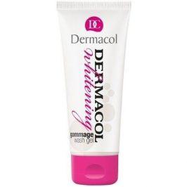 Dermacol Whitening Gommage Wash Gel 100 ml mycí gel s mikroperličkami proti pigmentovým skvrnám pro ženy