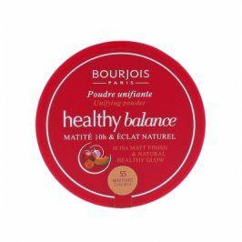 BOURJOIS Paris Healthy Balance 9 g pudr pro ženy 55 Dark Beige