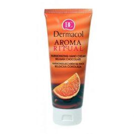 Dermacol Aroma Ritual Belgian Chocolate 100 ml hydratační krém na ruce pro ženy