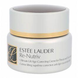 Estée Lauder Re-Nutriv Ultimate Lift 50 ml krém na krk a dekolt proti vráskám pro ženy