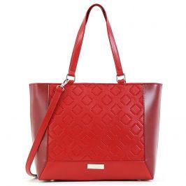 Dámská kabelka Doca 15443 - červená