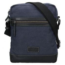 Pánská taška přes rameno Lagen Bill - modro-černá