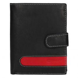 Pánská kožená peněženka Diviley Davide - černá