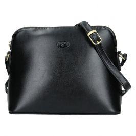 Kožená dámská crosbody kabelka Katana Nicolet - černá