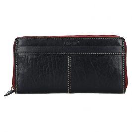 Dámská kožená peněženka Lagen Philia - černá