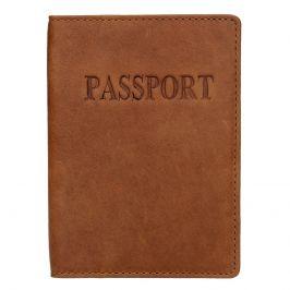 Pánský obal na cestovní pas Lagen Petrov - hnědá