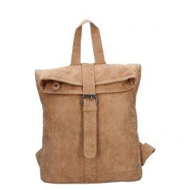 Moderní dámský batoh Piace Molto Gretta - camel