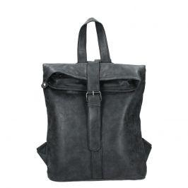 Moderní dámský batoh Piace Molto Gretta - černá
