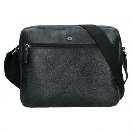 Pánská kožená taška Daag Malcolm - černá