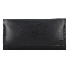 Dámská kožená peněženka Lagen Miala - černá