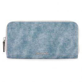 Dámská peněženka Emily & Noah Laura - modrá