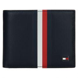 Pánská kožená peněženka Tommy Hilfiger Wulf - tmavě modrá