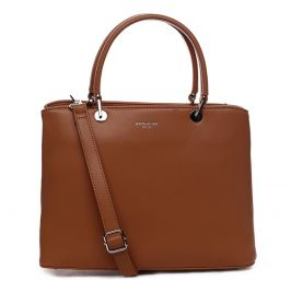 Dámska kabelka David Jones Rachel - hnědo-oranžová
