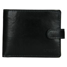 Pánská kožená peněženka Lagen Mareto - černá