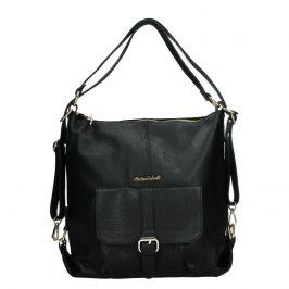 Dámská kožená kabelka/batoh Marina Galanti Alice - černá
