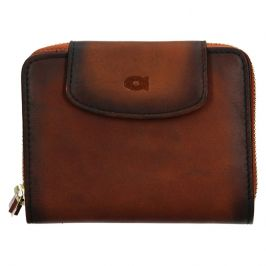 Dámská kožená peněženka Daag Miranda - koňak