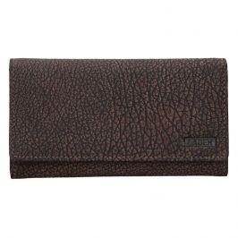 Dámská kožená peněženka Lagen Lussy - hnědá