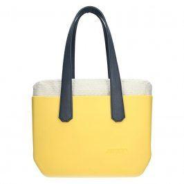 Dámská trendy kabelka Ju'sto J-Wide Andrea - žluto-modrá