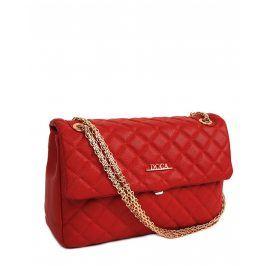 Dámská crossbody kabelka Doca 13250 - červená