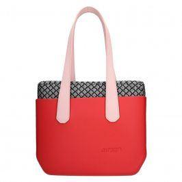 Dámská trendy kabelka Ju'sto J-Wide Dora - červeno-růžová