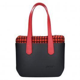 Dámská trendy kabelka Ju'sto J-Wide Nora - černo-červená
