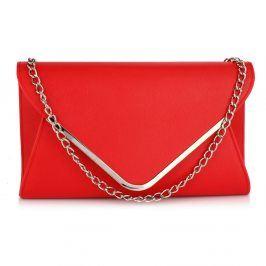 Dámské psaníčko LS Fashion Caitlin - červená