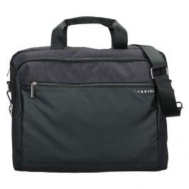 Pánská taška na notebook Bugatti Vinston - černo-šedá