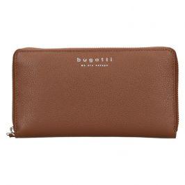 Dámská kožená peněženka Bugatti Ruth - hnědá