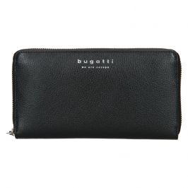 Dámská kožená peněženka Bugatti Ruth - černá